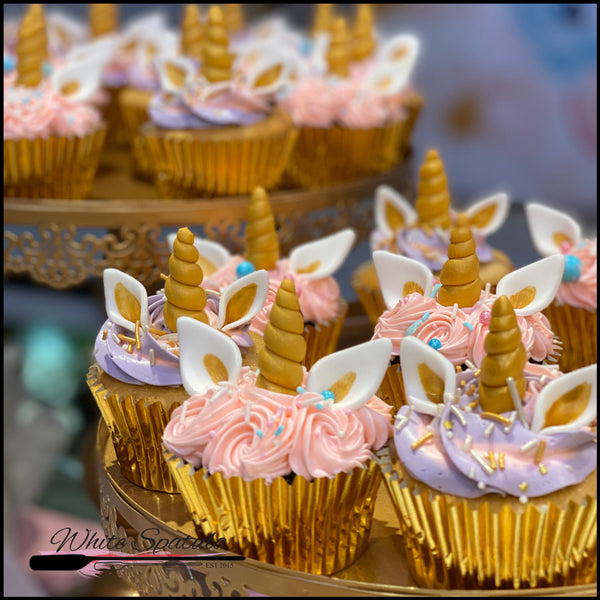 Unicorn Cupcakes - White Spatula Singapore