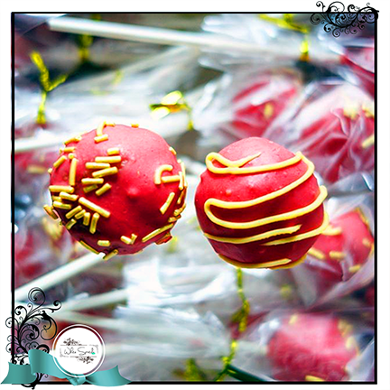 Cake Pops Favours - White Spatula Singapore