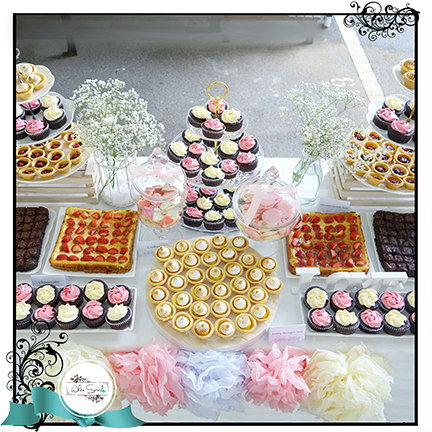 $1188 Wedding Dessert Table Promotion (80-100 pax) - White Spatula Singapore
