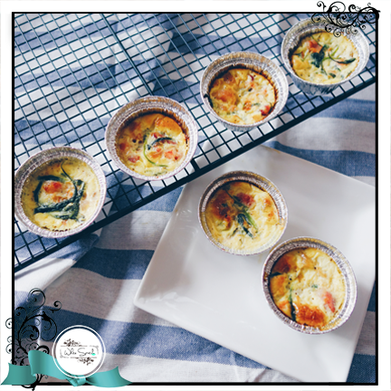 Quiche cups - White Spatula Singapore