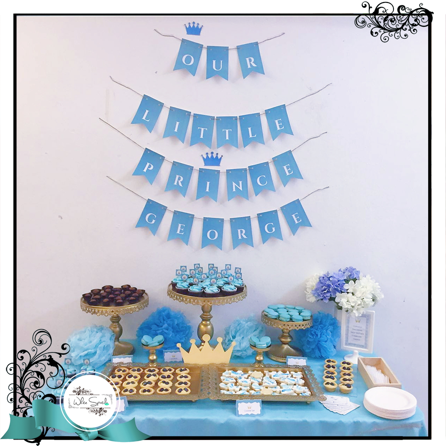 599 Birthday Full Month Dessert Table Package Promotion 25 30pax