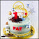 Fly Me To The Moon / Baby Astronaut Boy/Girl Buttercream Cake