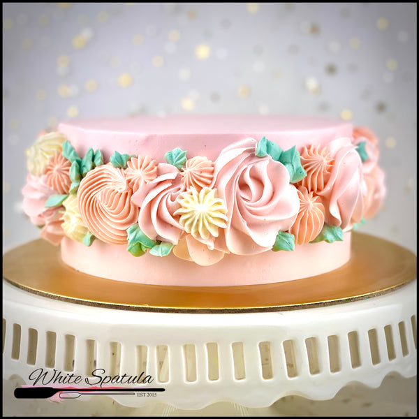Mother's Day Cake - White Spatula Singapore
