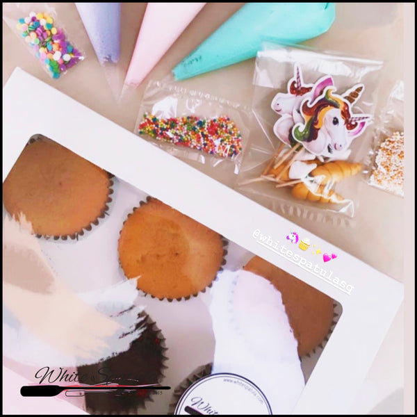 Stay Home DIY Box Set :  Unicorn - White Spatula Singapore