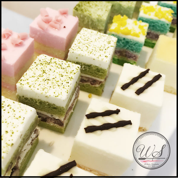 Assorted Mini Cakes - White Spatula Singapore