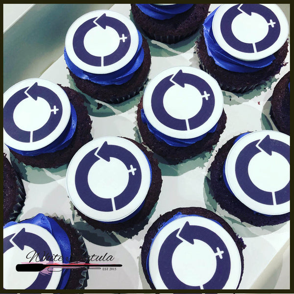 Personalized Cupcakes with edible image print - White Spatula Singapore
