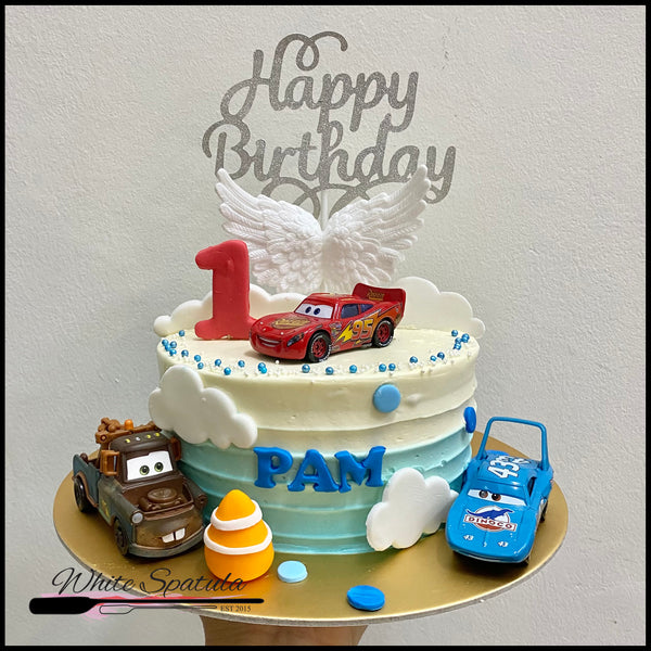 Cars Buttercream Cake