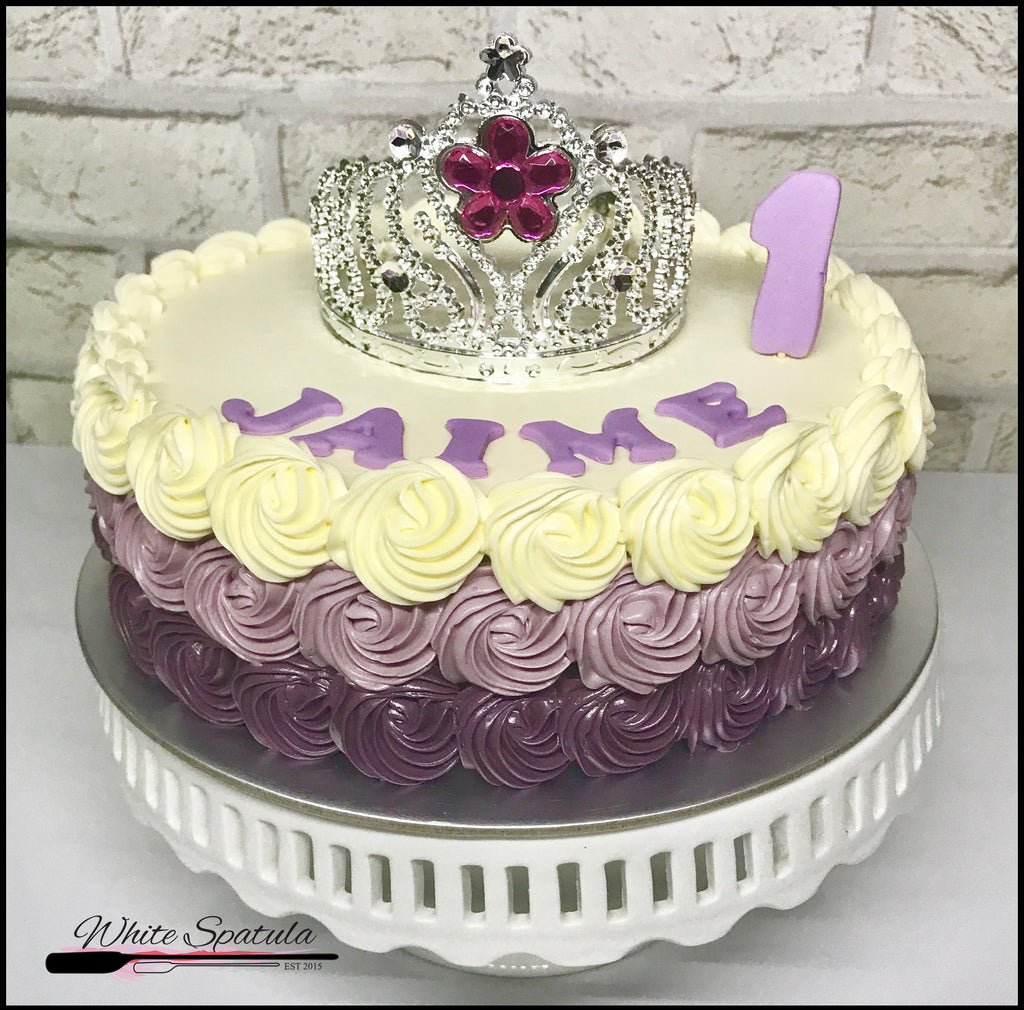 Princess Ruffles Cake - White Spatula Singapore
