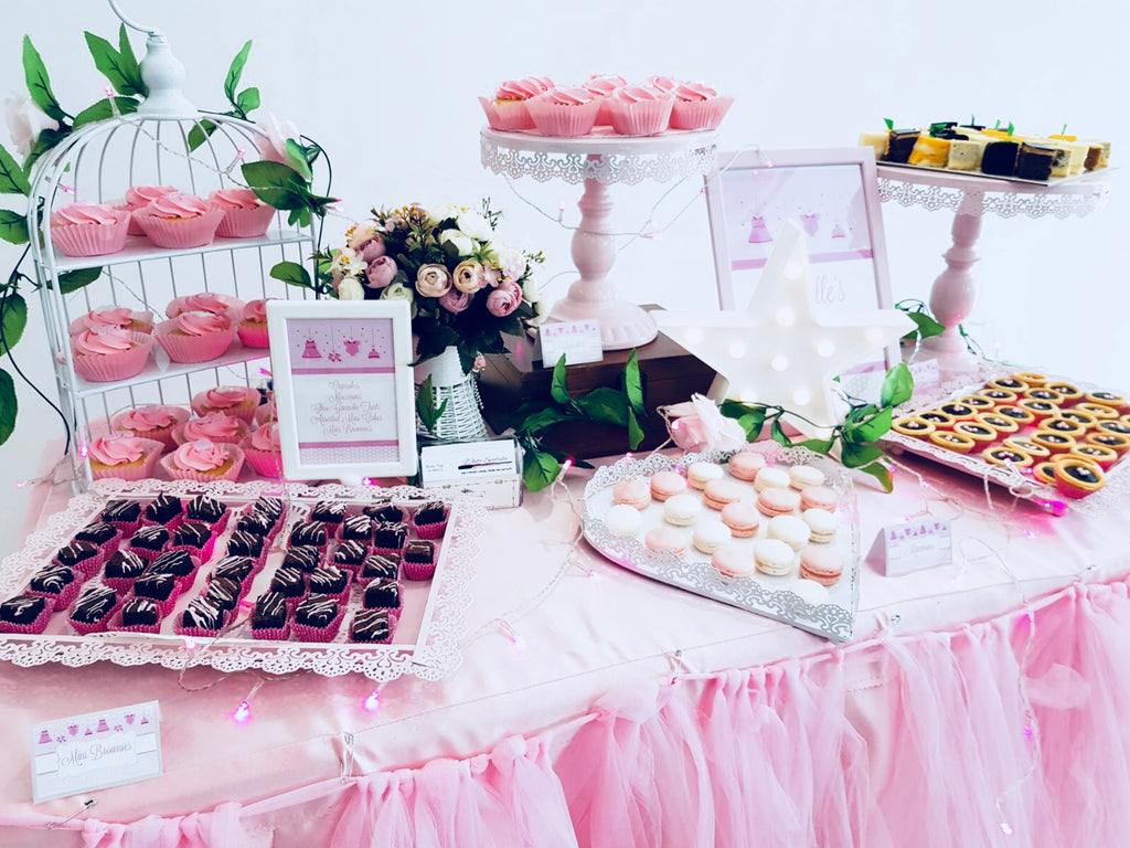 $299 Event/Party Dessert Table Package Promotion (10-15 pax) - White Spatula Singapore