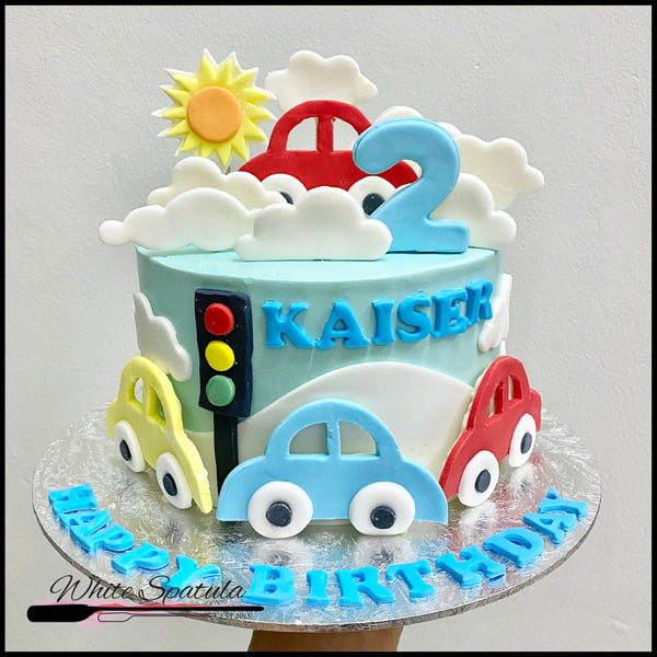 Car / Transport Buttercream Cake
