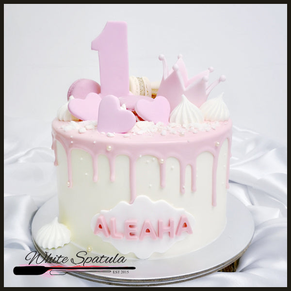 Cutie Crown Cake - White Spatula Singapore