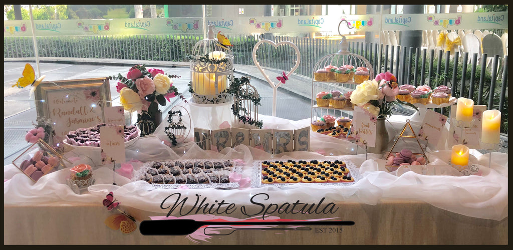$999 Grand Event/Party Dessert Table Package Promotion (55 - 75 pax) - White Spatula Singapore