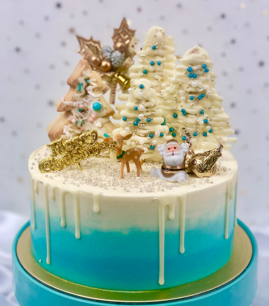 WS Christmas Log Cakes & Celebration Cakes - White Spatula Singapore