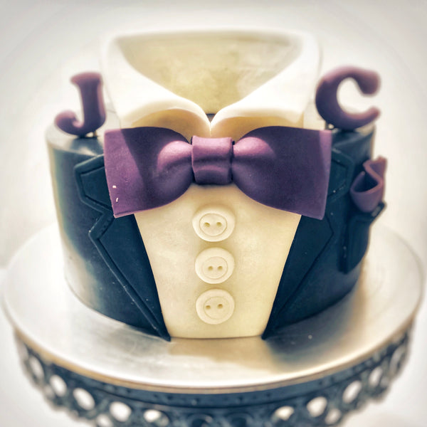For Him (Gentlemen) Buttercream Cake - White Spatula Singapore