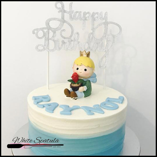 Little Prince Buttercream Cake
