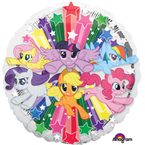My Little Pony Gang Balloons - White Spatula Singapore