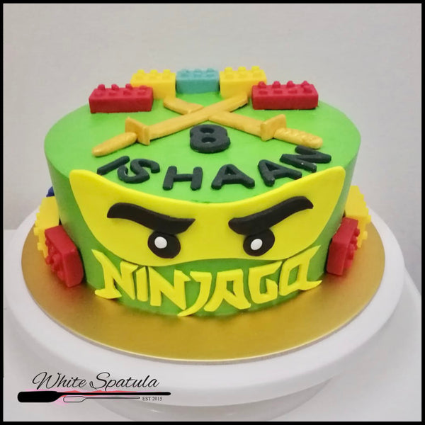Ninja Buttercream Cake