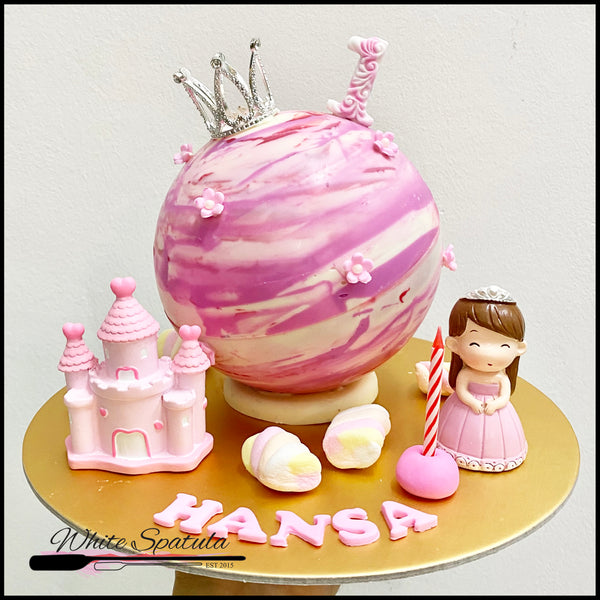 Princess Pinata Surprise Cake