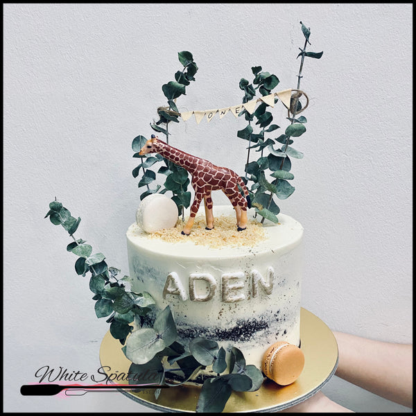 Rustic Animal Buttercream Cake