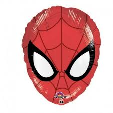 Spiderman Face Balloons - White Spatula Singapore