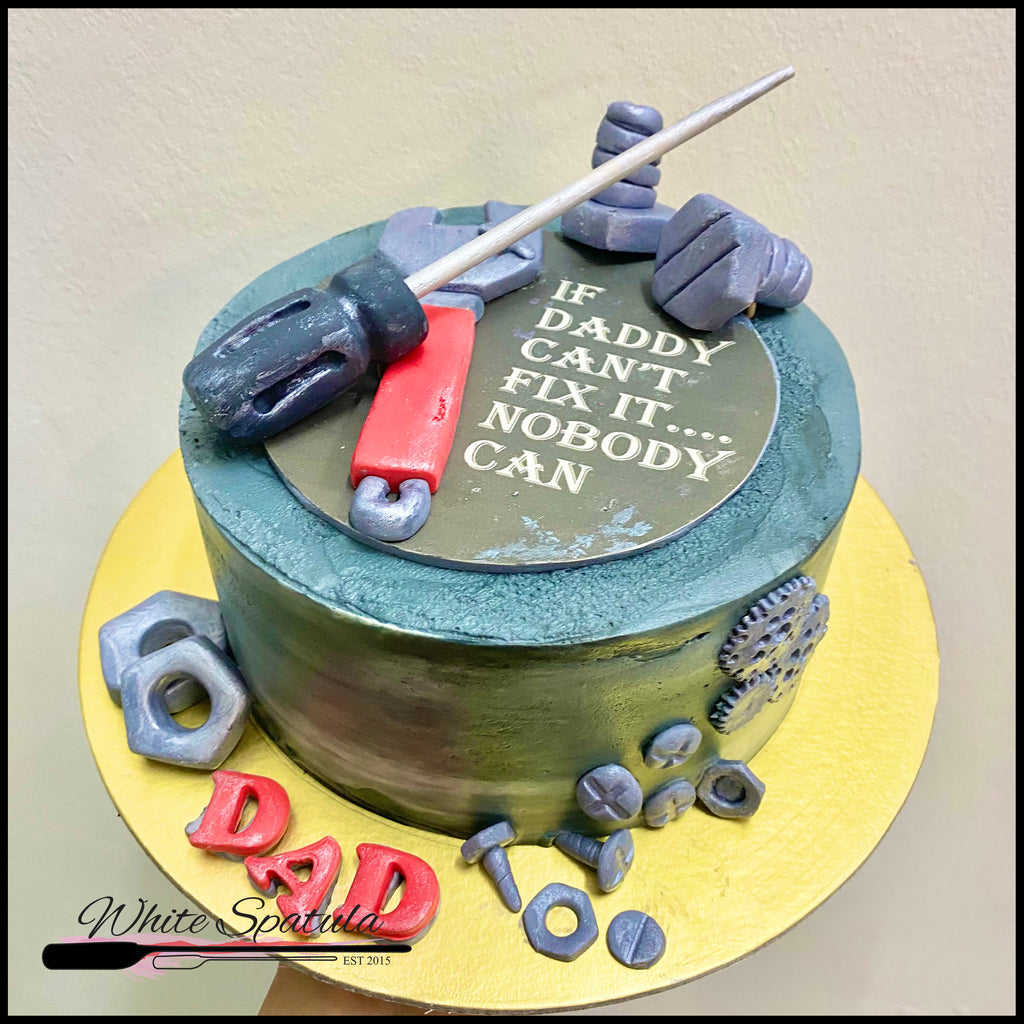Hardware Tools Buttercream Cake