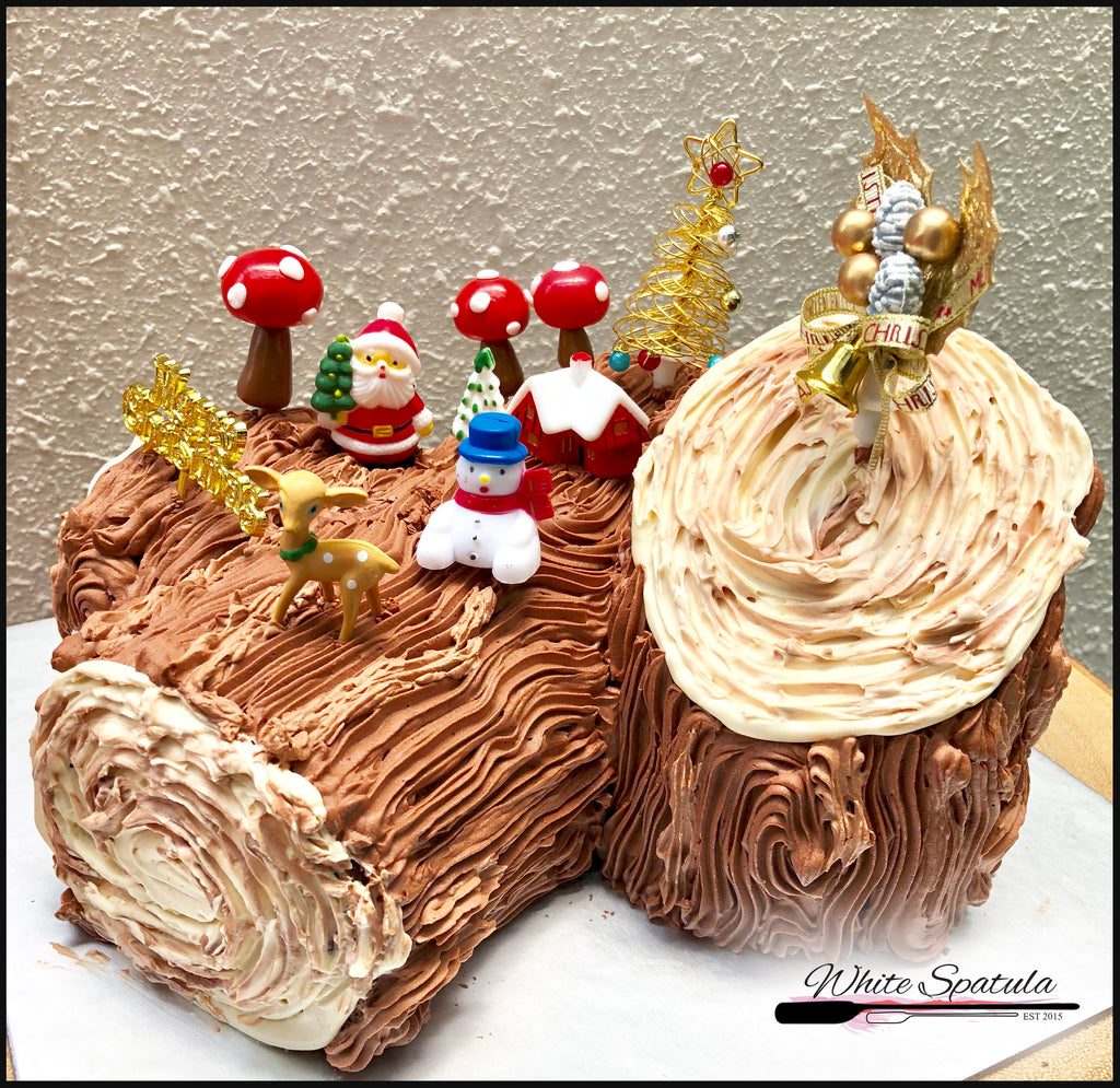 WS Christmas Selections - Cakes, Log Cakes & Desserts - White Spatula Singapore