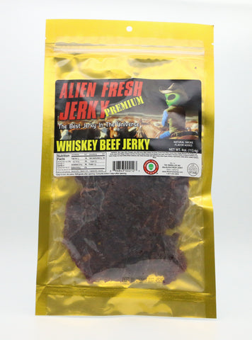 Whiskey Beef Jerky (4 oz)