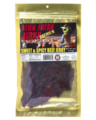 Sweet & Spicy Beef Jerky (4 oz)