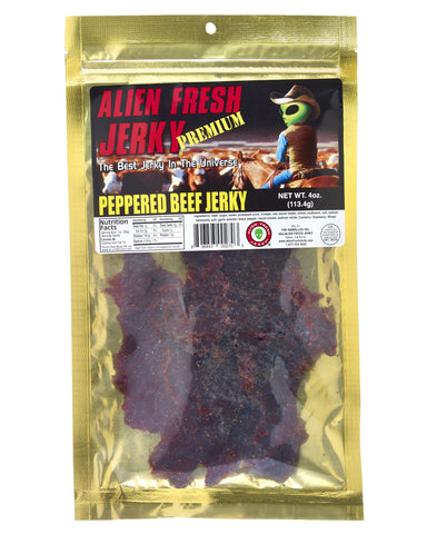 Peppered Beef Jerky (4 oz)