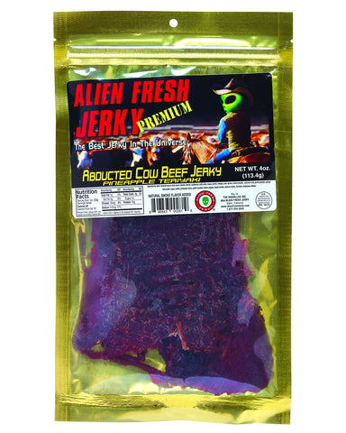 Abducted Cow Pineapple Teriyaki Beef Jerky (4 oz)