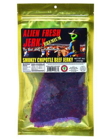 Smokey Chipotle Beef Jerky (4 oz)