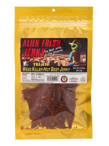 Tri-Tip Jerky - Weed Killer Hot (3.25 oz)