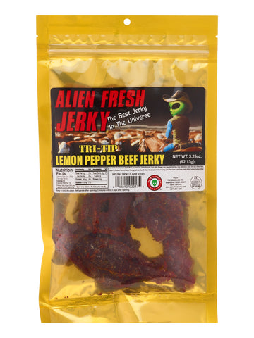 Tri-Tip Jerky - Lemon Peppered (3.25 oz)