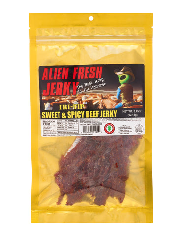 Tri-Tip Jerky - Sweet and Spicy (3.25 oz)