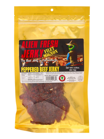 Filet Mignon Jerky - Peppered (3.25 oz)