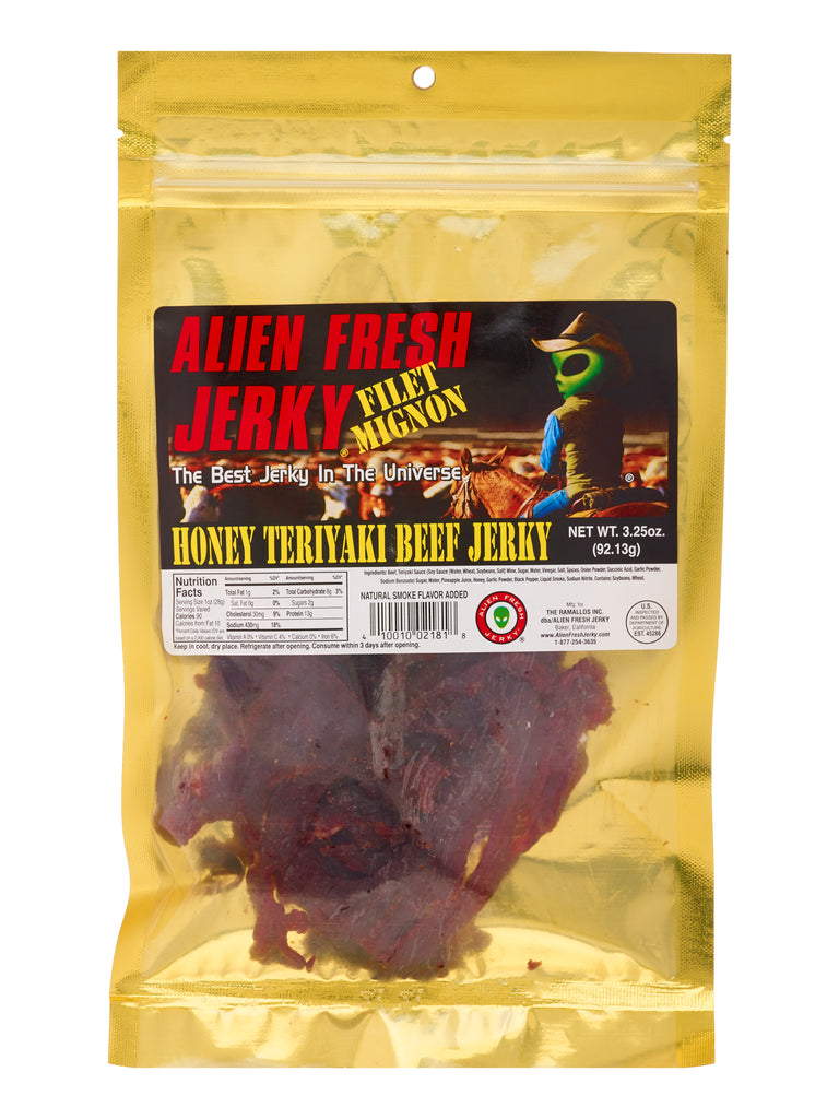 Filet Mignon Jerky - Honey Teriyaki (3.25 oz)