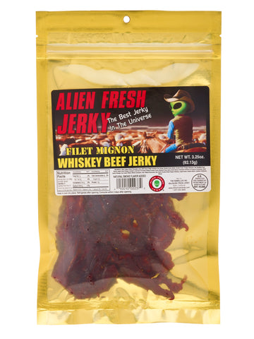 Filet Mignon Jerky - Whiskey Jerky (3.25 oz)