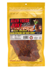 Filet Mignon Jerky - Alien Extreme Hot (formerly Colon Cleaner Hot) (3.25 oz)