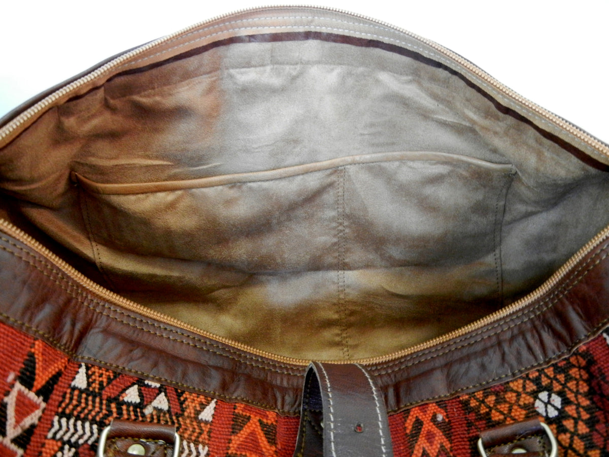 Atlas Vintage Kilim Duffle - Limited Edition