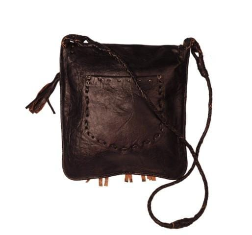 Bohemian Fringed Crossbody Leather Bag - OneLove Global Imports