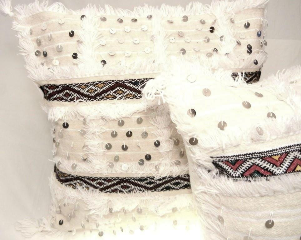 Moroccan Handira Pillow - OneLove Global Imports