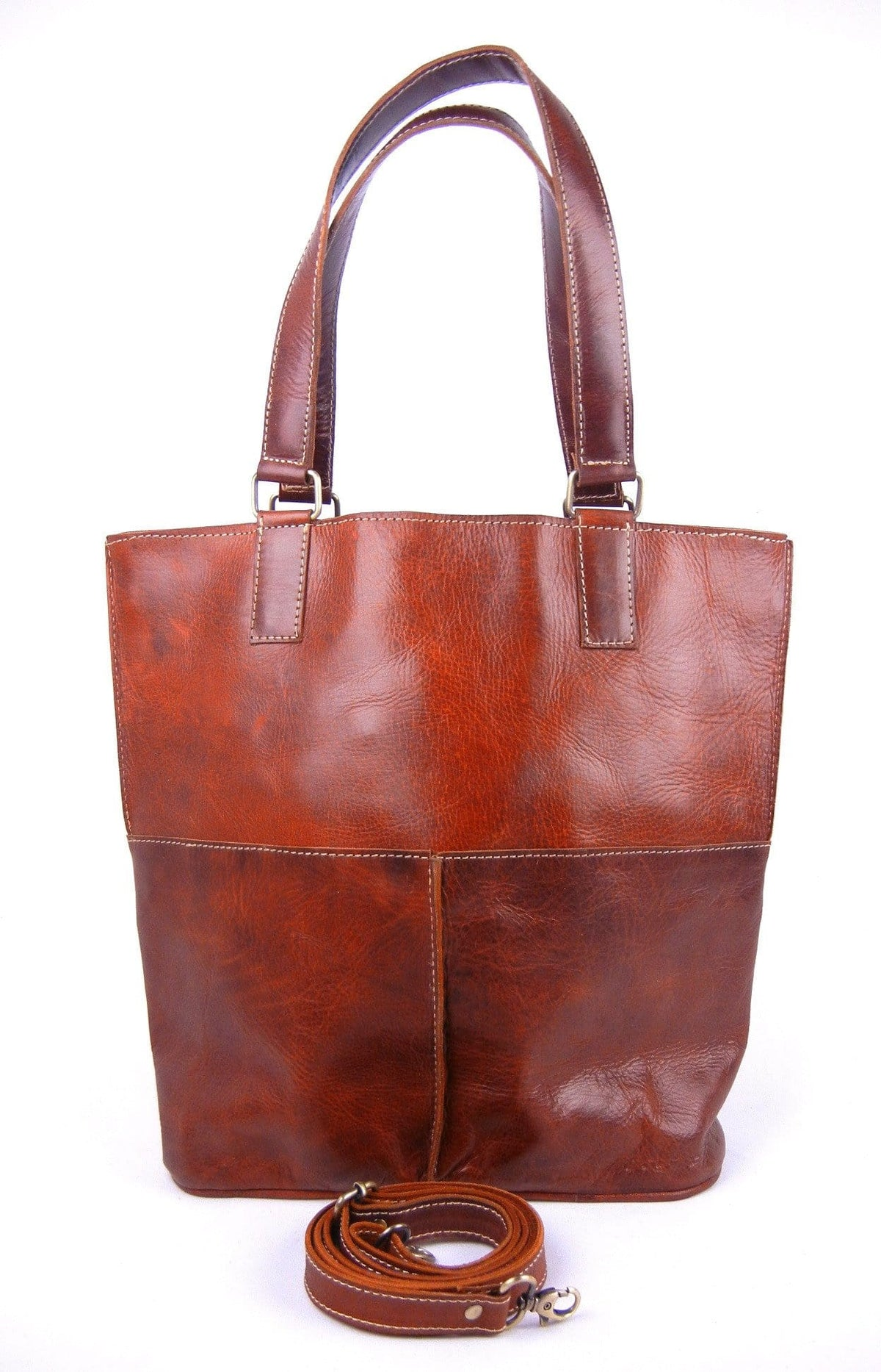 Safiyya - Leather Tote and Crossbody
