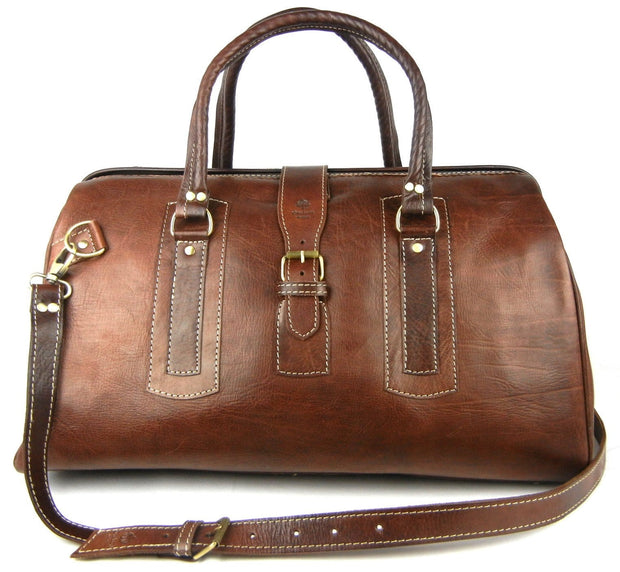 Eastwood Overnight - Leather Weekender Bag - OneLove Global Imports