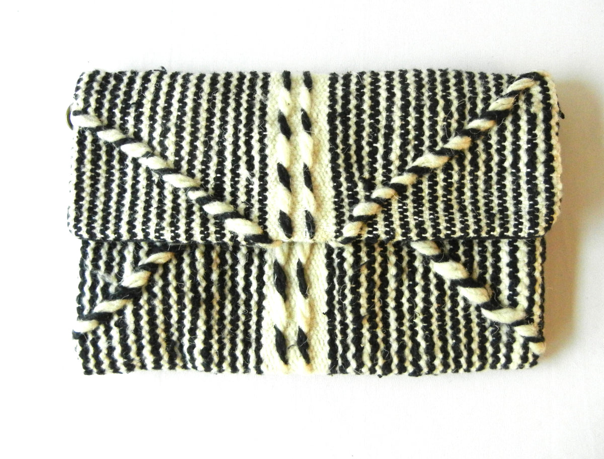Moroccan Foldover Clutch