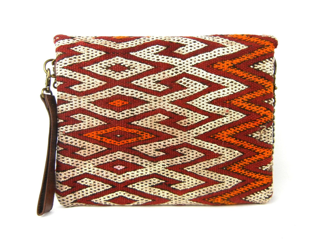 Kahina - Kilim Clutch #18 - OneLove Global Imports