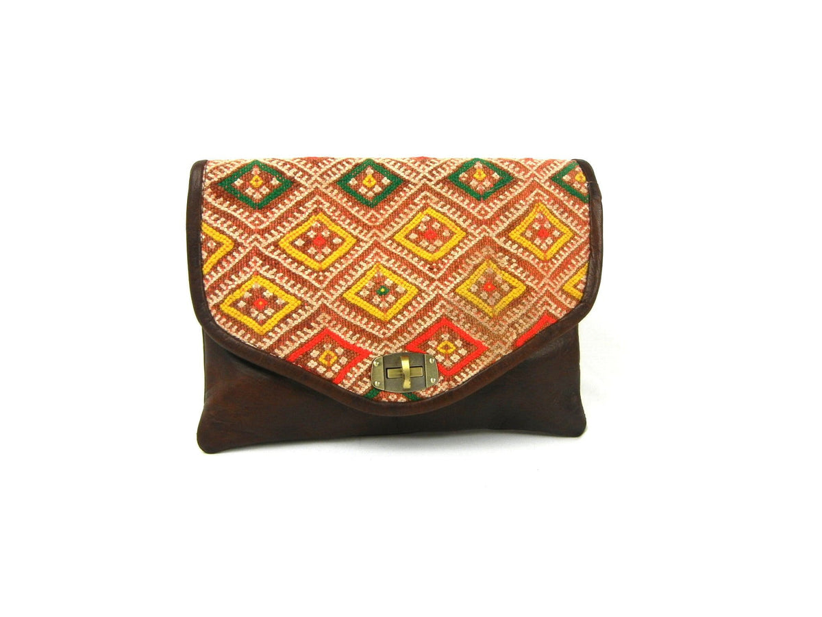 Kilim Clutch Crossbody   onelove global imports.myshopify.com