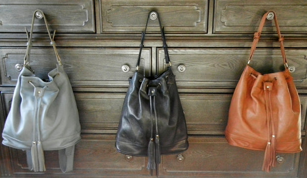 Leather Tote Backpacks