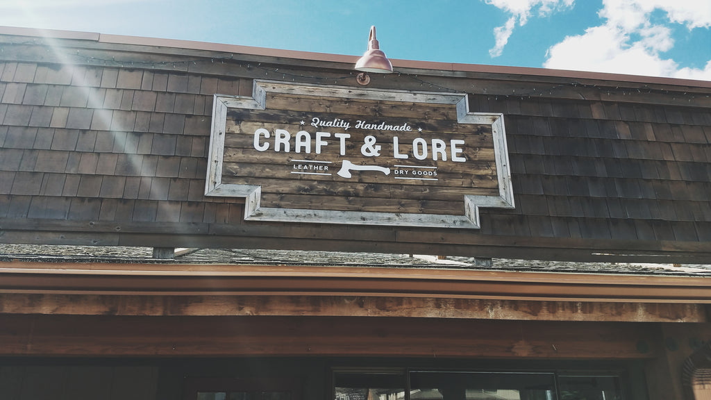 Craft and Lore Retail Work Shop