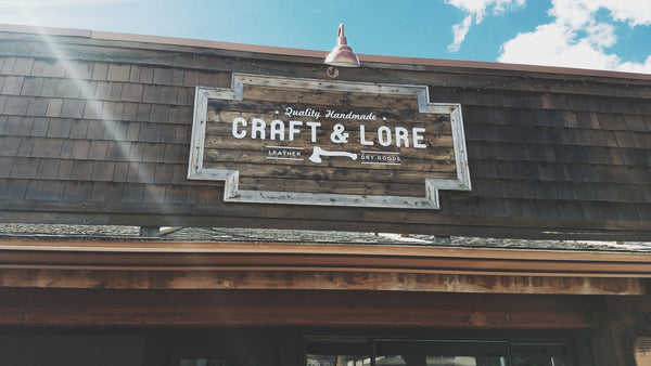 Craft and Lore Handmade Leather Goods in North Idaho