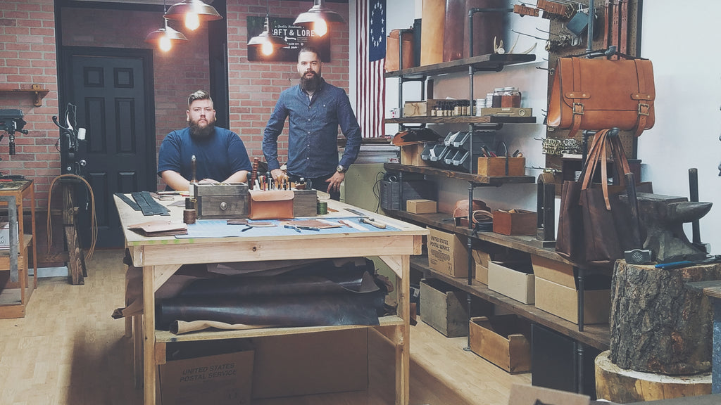 Craft and Lore Workshop Coeur d Alene North Idaho Handmade Leather Goods